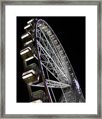 Ferris Wheel At Night 16x20 Framed Print