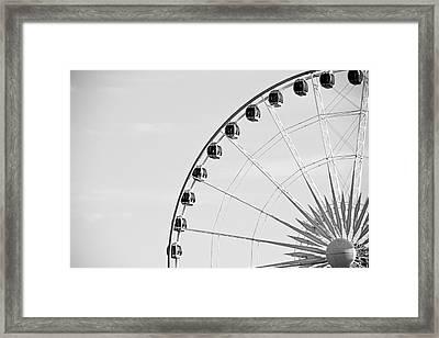 Ferris Wheel Framed Print by Edward Myers