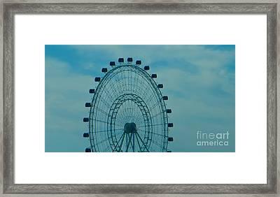 Ferris Wheel Fun Framed Print