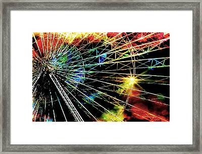 Ferris Wheel, Grand Roue Framed Print