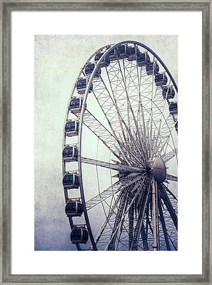 Ferris Wheel Framed Print by Joana Kruse