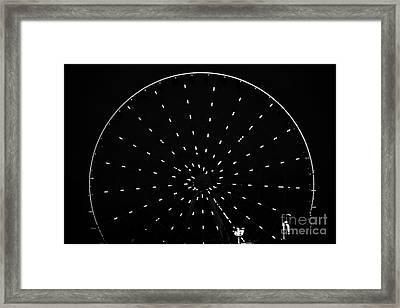 Ferris Wheel Pigeon Forge Framed Print