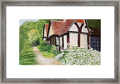 Ferry Cottage Framed Print
