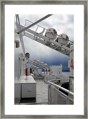 Ferry Crossing Framed Print