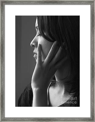 Ferry Girl Framed Print by Sheila Smart Fine Art Photography