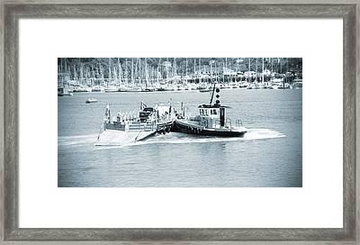 Ferry Framed Print