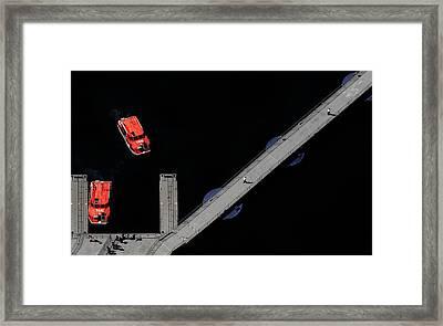 Ferry To Wonderland Framed Print by Cristian Kirshbom