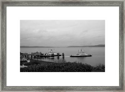 Ferry Framed Print by Ty Nichols