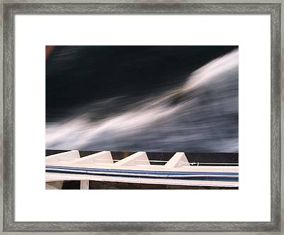 Ferry Wash Framed Print by Mark Alan Perry