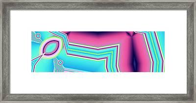 Framed Print featuring the digital art Fertile by Ron Bissett