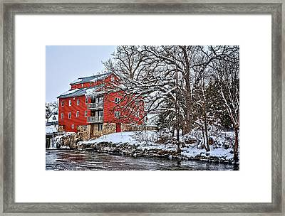 Fertile Winter Framed Print
