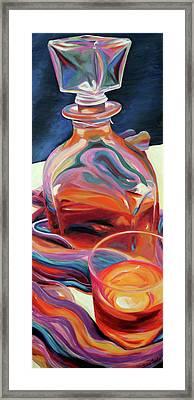 Fervor Framed Print by Trina Teele