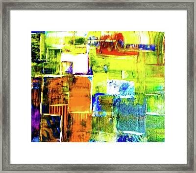 Festa Framed Print