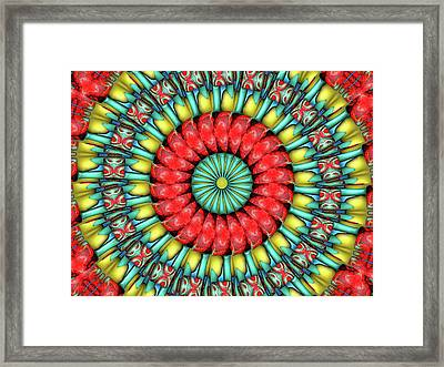 Framed Print featuring the digital art Festival 1 by Wendy J St Christopher