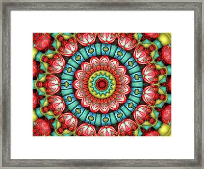 Framed Print featuring the digital art Festival 2 by Wendy J St Christopher
