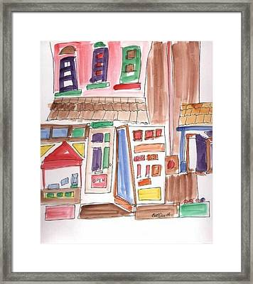 Festival In The City 3 Framed Print by B L Qualls