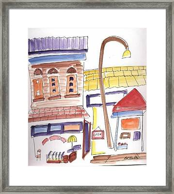 Festival In The City 4  Framed Print by B L Qualls