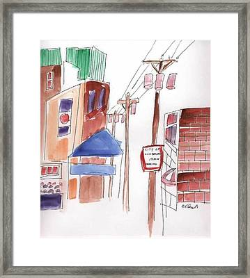 Festival In The City 8 Framed Print by B L Qualls