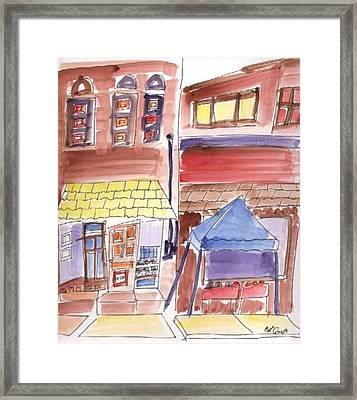 Festival In The City - 9 Framed Print by B L Qualls