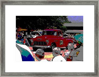 Festival Parade Framed Print