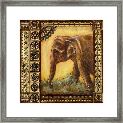 Festival Princess Framed Print