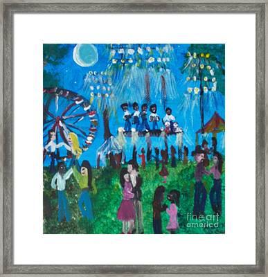 Festival Framed Print by Seaux-N-Seau Soileau