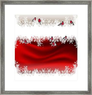 Festive Background 2 Framed Print by Irina Effa