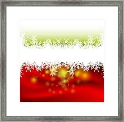 Festive Background 5 Framed Print by Irina Effa