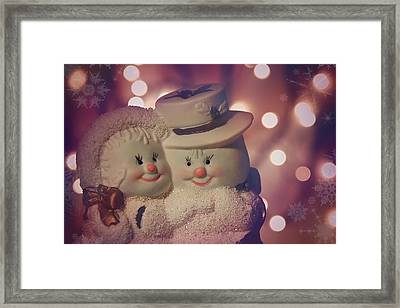 Festive Friends Framed Print by Carol Japp