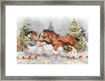 Festive Fun Framed Print