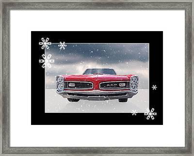 Festive Pontiac Gto Framed Print