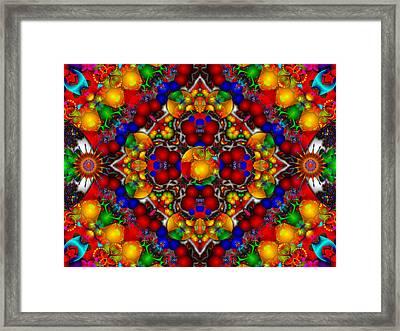 Framed Print featuring the digital art Festivities by Robert Orinski