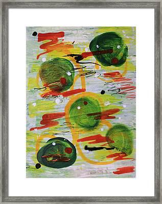 Festivity Balls Framed Print