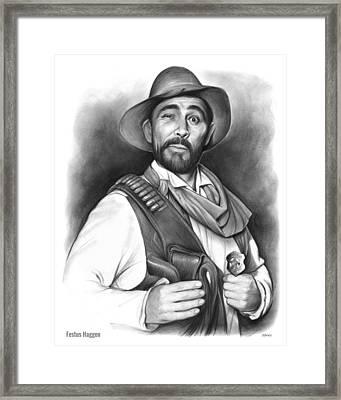 Festus Haggen Framed Print by Greg Joens