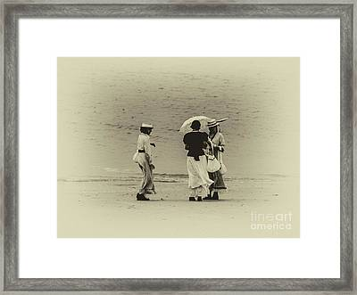 Fete-soulac-1900_03 Framed Print