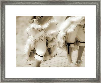 Fete-soulac-1900_06 Framed Print