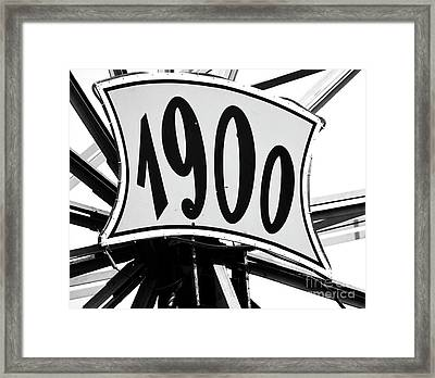 Fete-soulac-1900_26 Framed Print