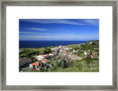 Feteiras - Azores Islands Framed Print by Gaspar Avila