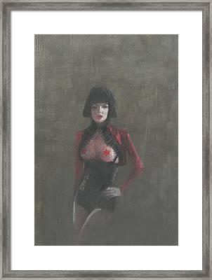 Fetish Artist Framed Print by Lincoln Seligman