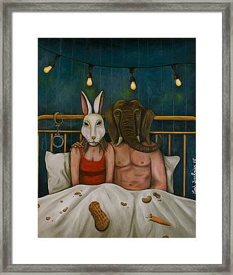 Fetish Nightmare 4 Framed Print by Leah Saulnier The Painting Maniac