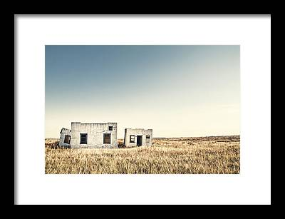 Abandoned House Framed Prints