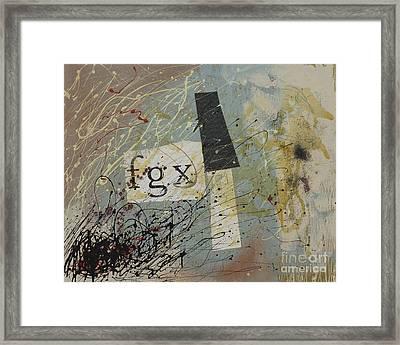 fgx Framed Print