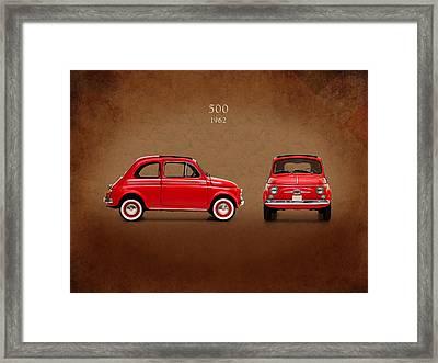 Fiat 500 D 1960 Framed Print