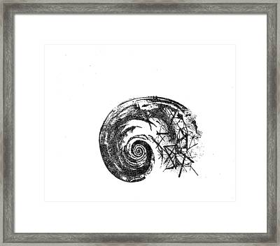 Fibonacci Framed Print by Drilona Maqedonci