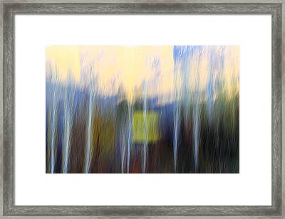 Fiction Framed Print by Robert Shahbazi
