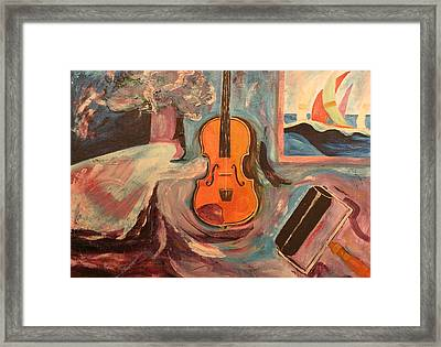 Fiddle Framed Print by Biagio Civale