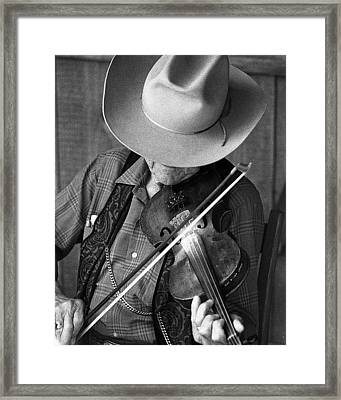 Framed Print featuring the photograph Fiddler #1 by Jim Mathis