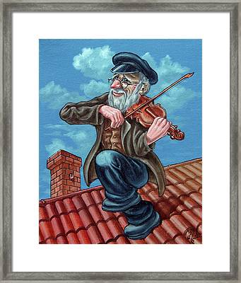 Fiddler On The Roof. Op2608 Framed Print
