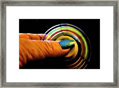 Framed Print featuring the photograph Fidgets by Denise Fulmer
