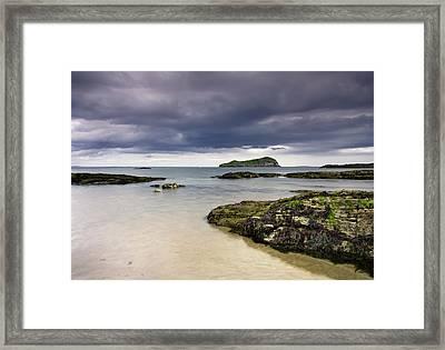 Fidra Framed Print by Sam Smith